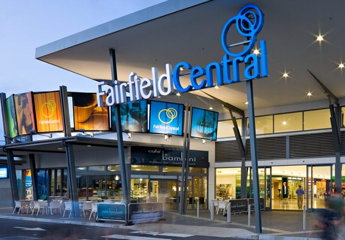 fairfield central shopping center