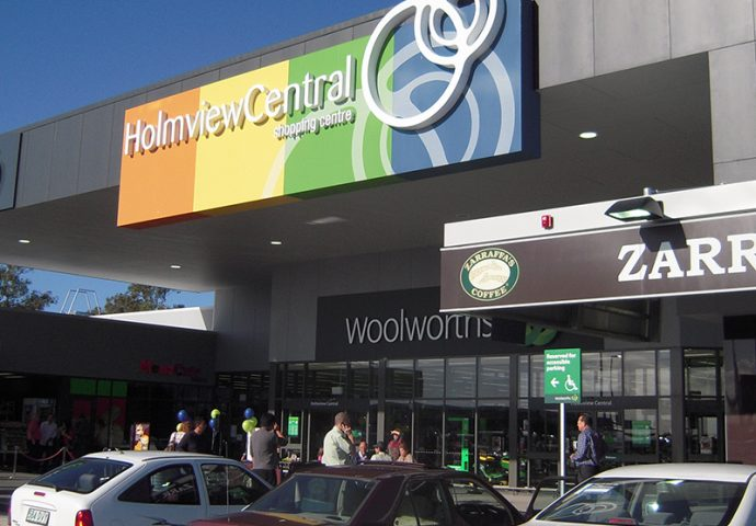 Holmview Central shopping centre